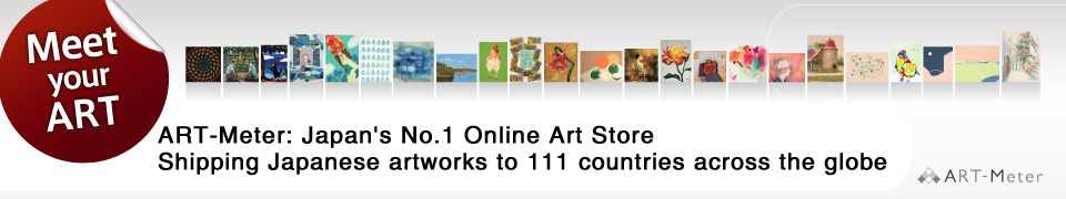 """ART-Meter""Japan's most sold painting online shop Shipping Japanese Artworks over 111 countries around the world"