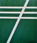 「Green and white Line」