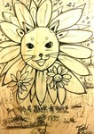 「Flower cat monster」