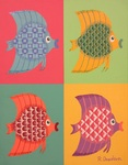 「Colorful Fish F6-3」